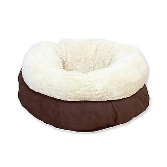 Alt for paws brun ruskind Soft Cat Bed