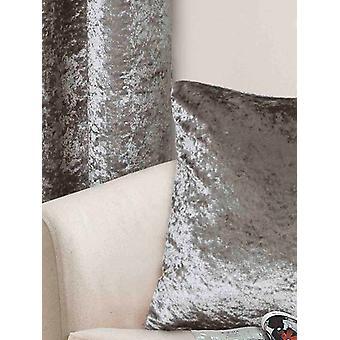 Belle Maison Cushion Cover, Crushed Velvet Range