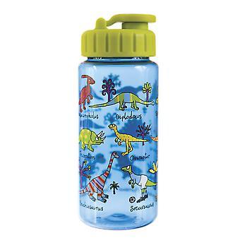 Tyrrell Katz Dinosaur Drinking Bottle with straw