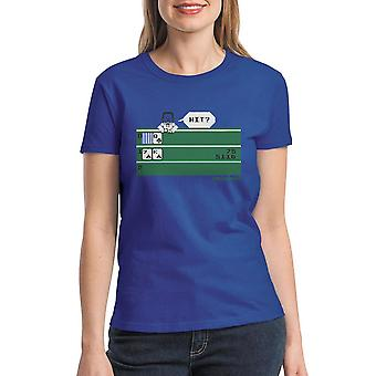 Intellivision Solitaire Hit? Game Women's Royal Blue T-shirt