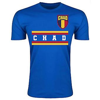 Chad Core Football Country T-Shirt (Blue)