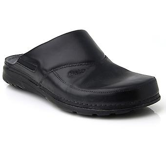 Batz PETER High Quality Leather Mens Clogs