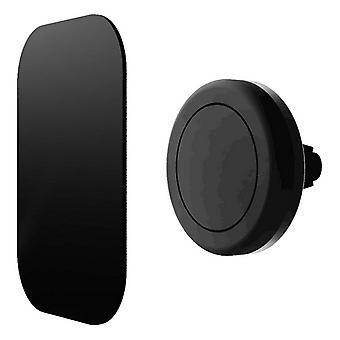 Magnetische mobiele telefoonhouder voor autocontact Zwart