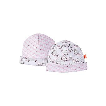 Magnificent Baby Magnetic Me™ Reversible Baby Girl Cap - Tortoise & Hare