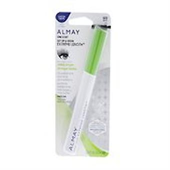 Almay One Coat Get Up & Grow Extreme Length Mascara, Black 020 { 9 Pack }