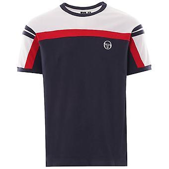 Sergio Tacchini Daska T-Shirt - Navy/White