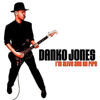 Danko Jones - I'm Alive & on Fire [CD] USA import