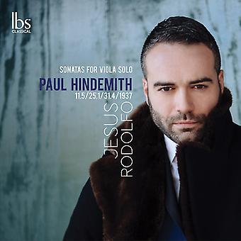 Sonatas For Solo Viola [CD] USA import