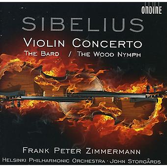 J. Sibelius - Sibelius: Violin Concerto; the Wood Nymph [CD] USA import