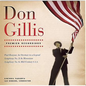 Don Gillis - Don Gillis: Paul Bunyan; Symfonie nr. 5; Symfonie No. 6 [CD] USA importeren