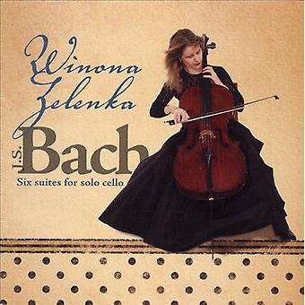 J.S. Bach - Bach: Six Suites for Solo Cello [CD] USA import