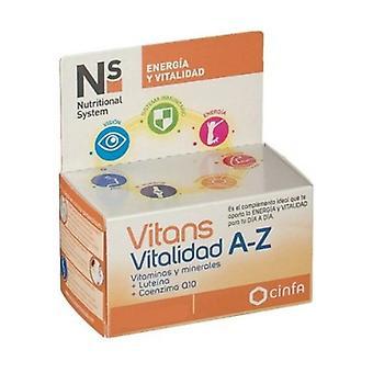 Vitans Vitality A-Z 30 tablets
