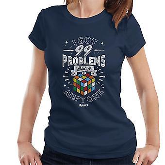Rubik's 99 Problems But A Cube Ain't One Women's T-Shirt