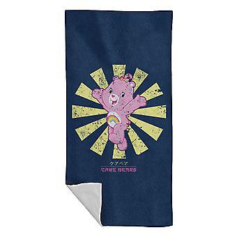 Care Bears Retro Japanese Beach Towel