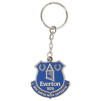 Everton FC Official Metal Football Crest Keyring