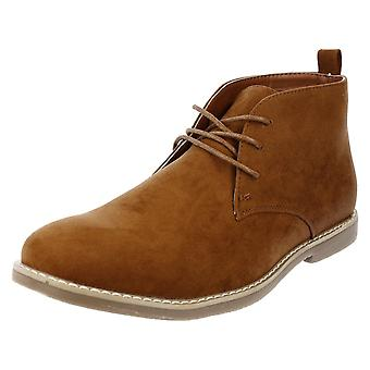 Mens Malvern Lace Up Casual Ankle Boots