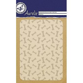 Aurelie psí kosti pozadí reliéfní složka
