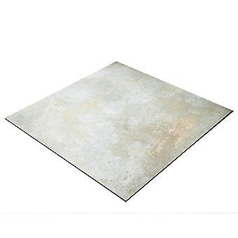 BRESSER Flatlay Hintergrund für Legebilder 40x40cm Betonlook Beige