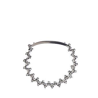 Alexander Mcqueen 554588j160y0446 Men's Silver Brass Bracelet