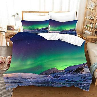 Marvellous Aurora Polaris 3d Printed Bedding Sets