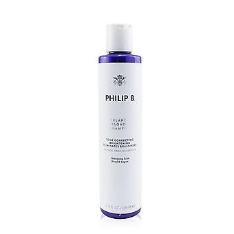 Philip B Islannin Blonde shampoo (sävy korjaaminen kirkastaa eliminoi Brassiness-blondi, harmaa, hopea hiukset) 220ml/7.4 oz