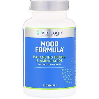 Vita Logic, Mood Formula, 120 Vegcaps