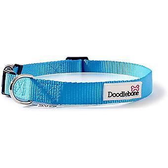 Doodlebone Állítható Bold Collar - Közepes - Kék