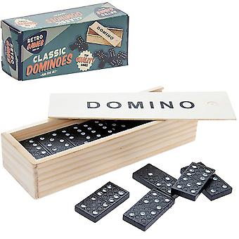 Classic Dominoes - Retro Gaming - Boxed Gift