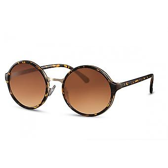 Sunglasses Women Round Cat.3 Brown (CWI900)