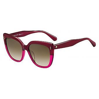 Sonnenbrille Damen  Kiyanna  gradient rosa/braun