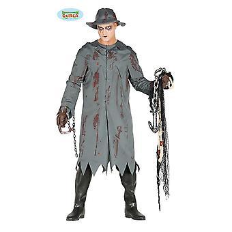 blodig sjømann kostyme for menn størrelse M/L, størrelse: L