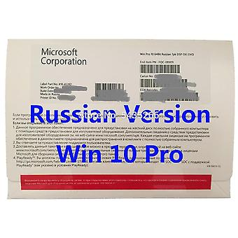 Pro Key Oem Version Boxed 64bits Dvd Coa License For Win 10 Professional Home Microsoft Os 7