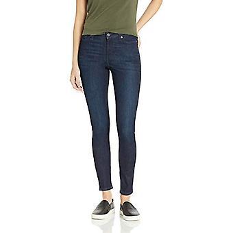 Essentials Women's Skinny Jean, Dark Wash, 8 Short