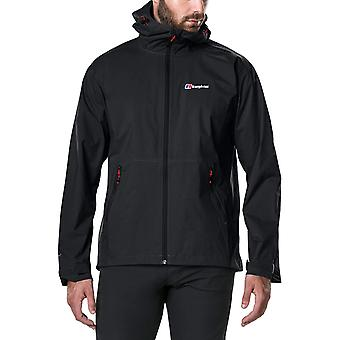 Berghaus Deluge Pro Mens Outdoor Waterproof Jacket Black