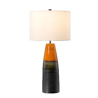 Lampe de table avec ombre cylindrique