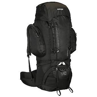 Vango Sherpa 65 litran reppu matkalaukku pack musta