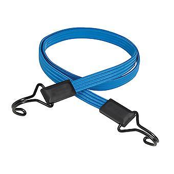 Master Lock Flat Bungee 120cm azul oscuro doble gancho MLK3227E
