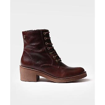 Toni Pons - Ankle boot for women made of brown leather - PAVIA-PO