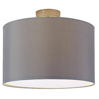 Lampada BRILLIANT Clarie Soffitto Lampada 40cm ferro/grigio 1x A60, E27, 60W, adatto per lampade normali (non incluse) Scala