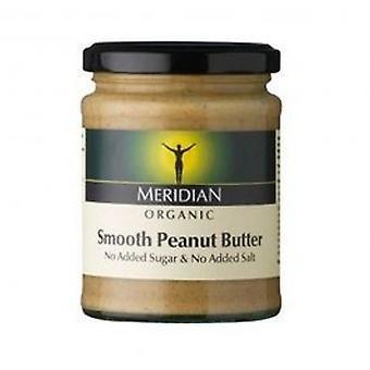 Meridian - Org Smooth Peanut ButterNoSalt 280g