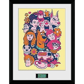 Scoob Collage Collector Print
