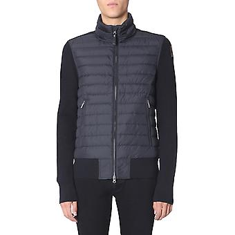 Parajumpers Pmknikn01scow710 Men's Blue Wool Down Jacket