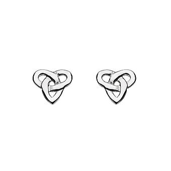 Heritage Niamh Celtic Trio Knot Studs 42024HP015