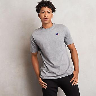 Russell Athletic Baseliners Short Sleeve T-Shirt - New Grey Marl