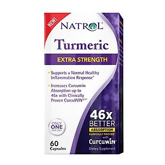 Natrol High Absorption Turmeric, 60 CAPSULE