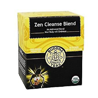 Buddha Teas Organic Zen Cleanse Blend Tea, 18 Bags