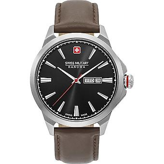 SWISS MILITARY-HANOWA - Wristwatch - Men - DAY DATE CLASSIC - 06-4346.04.007