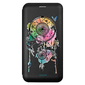 Eins für Iphone 12 Mini (5,4) Schwarz Muster Greift Traum Und Schmetterling