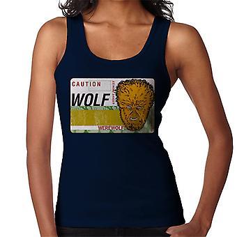 The Wolf Man Caution Extreme Danger Women's Vest