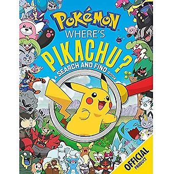 Where's Pikachu? A Search and Find Book: Official Pokemon (Pokemon)